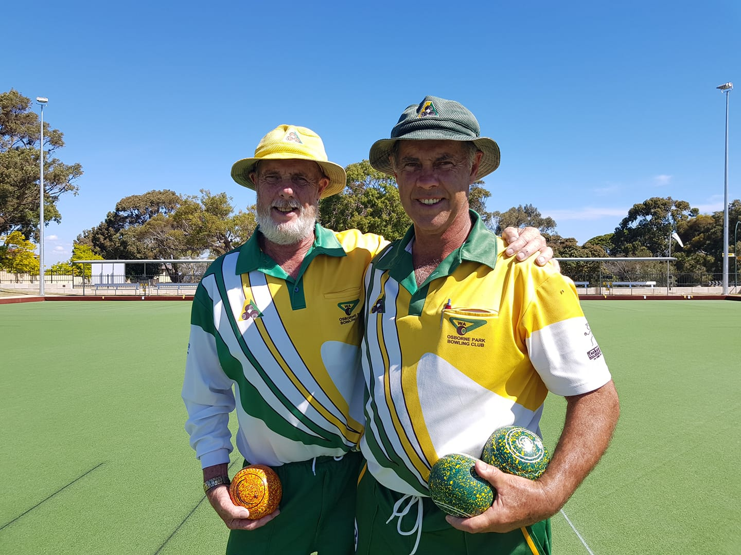 Mens Over 60s Pairs 2018